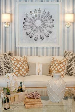 living room white sofa nautical classy